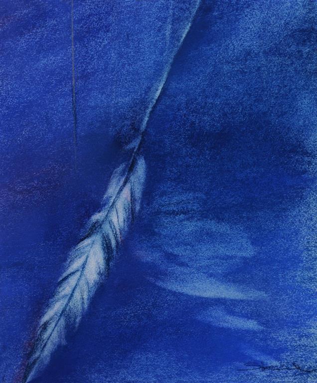 Grete Skoe. Tankestrek Pastell (40x33 cm)2500 ur