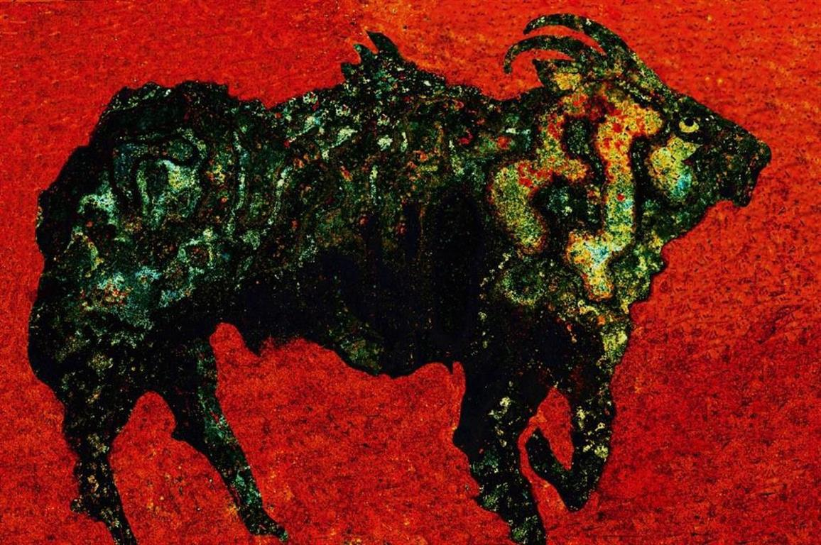 Kjell Vidar Andersen. Rusbukk Digiprint (40x60 cm) kr 1600 ur