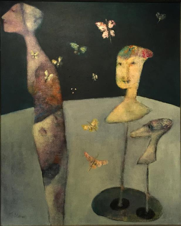 Trine Storen. Forvandling Akrylmaleri (80x64 cm) kr12800 mr