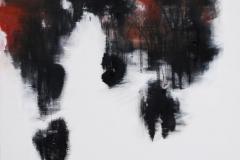Grete Skoe. Pa veg Akrylmaleri (90x90 cm) kr 9000 ur