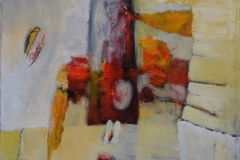 Trine Storen. Svevende Akrylmaleri (91x73 cm) kr 12800 ur