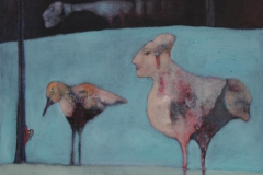 Trine Storen. Vadefugler Akrylmaleri (60x73 cm) kr 8000 ur