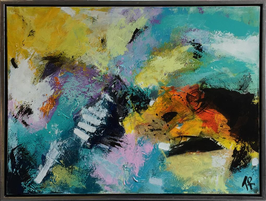 Blowing in the wind Akrylmaleri (60x80 cm) kr 6500 mr