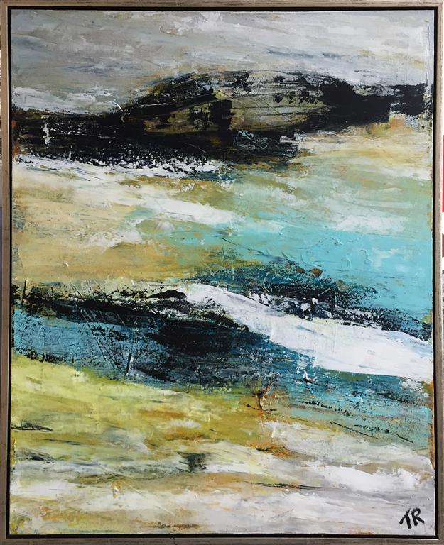Brændingen Akrylmaleri (100x80 cm) kr 9500 mr
