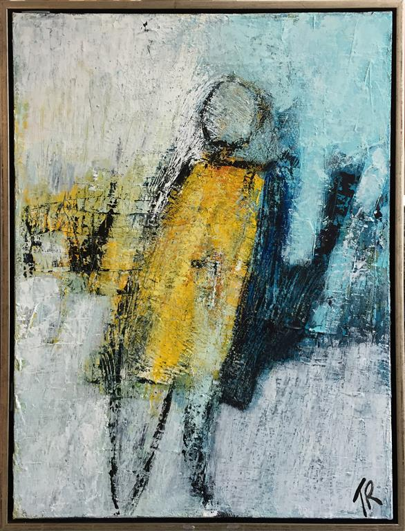 On a rainy day Akrylmaleri (80x60 cm) kr 6500 mr