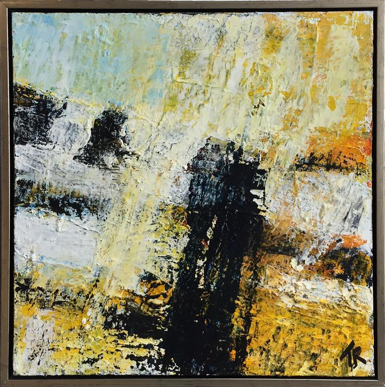 Stormy relation Akrylmaleri (60x60 cm) kr 5000 mr