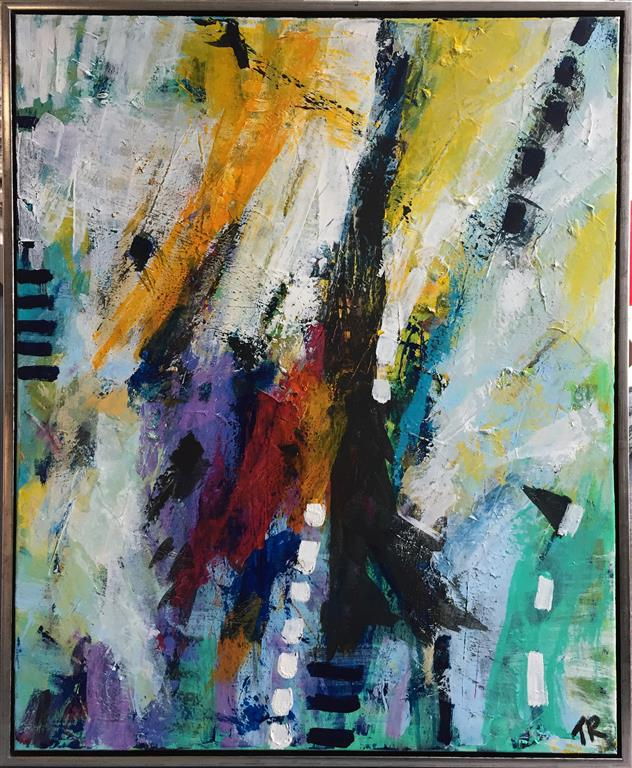 Trespass Akrylmaleri (100x80 cm) kr 9500 mr