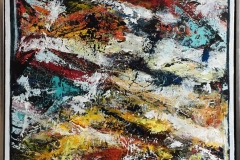 Aqvarium Akrylmaleri (80x80 cm) kr 8000 mr