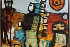 Comfort zone Akrylmaleri (80x80 cm) kr 8000 mr