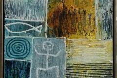 Ud af boksen Akrylmaleri (80x60 cm) kr 6500 mr
