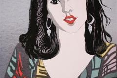 Ina Hilfling Seriegrafi 67x47cm 1800,-kr u.r.