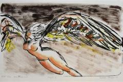 Engel III Litografi 24x41 cm 1100 ur