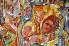 Drømmer II Oljemaleri (30x30 cm)