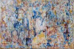 Kjærlighetsformel Oljemaleri (100x150 cm)