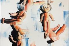 Morgengry Oljemaleri (100x80 cm)