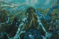 Hope Akrylmaleri (90x90 cm) kr 7500 ur