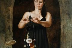 Marionett Maleri 80x80 cm 35000 ur