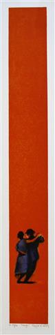 Tango Litografi 62x7,5 cm 1900 ur