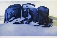 Vinter Litografi 37,5x68 cm 5000 ur
