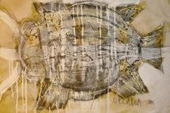 Fish Blanding teknikk 38x54 cm 6400 mr