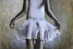 Ballerina II Litografi 61x37 cm 3000 ur