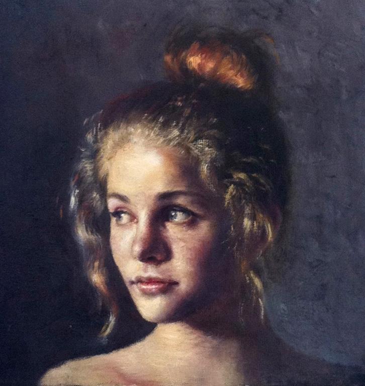 Johanna Maleri 30x30 cm 15000 mr