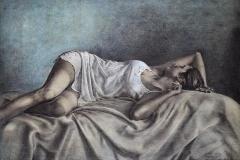 Nocturne Litografi 53x75 cm 5200 mr