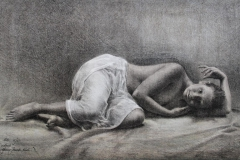 Nude Litografi 36x59 cm 3000 ur