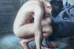 Solitude Maleri 100x80 cm 48000 ur