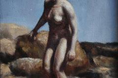 Sommer Maleri 23x18 cm 6000 mr